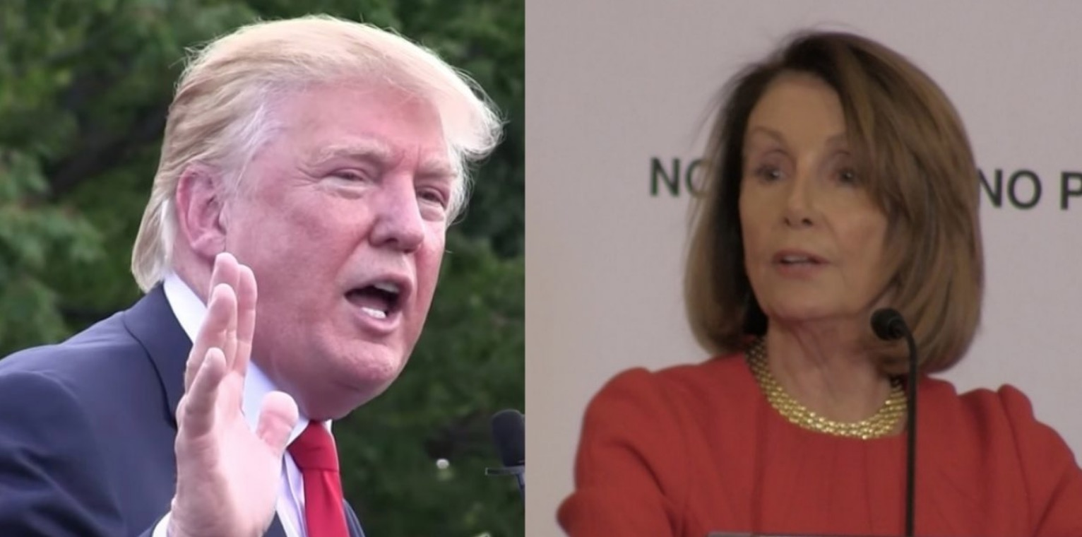 "Trump accuses Pelosi of being ""incapable"" of moving USMCA"