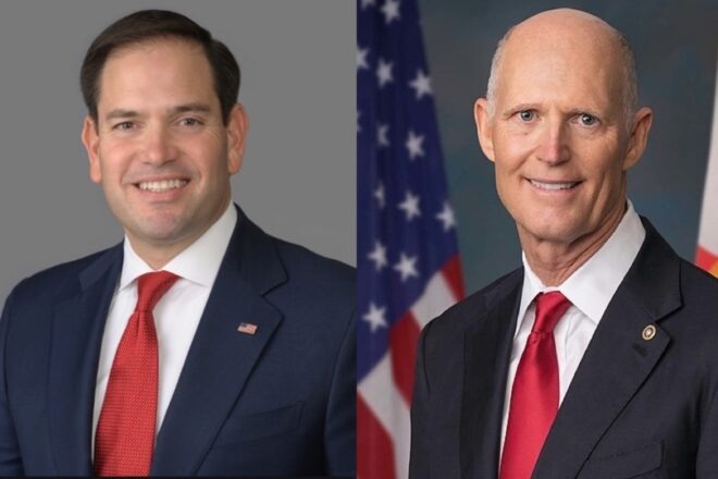 Rubio's and Scott's environment protection bills advance in the Senate