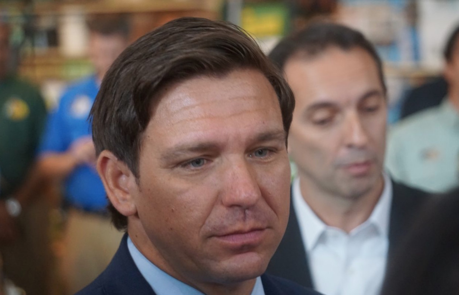 "DeSantis looks to bring naval base ""criminals"" to justice"