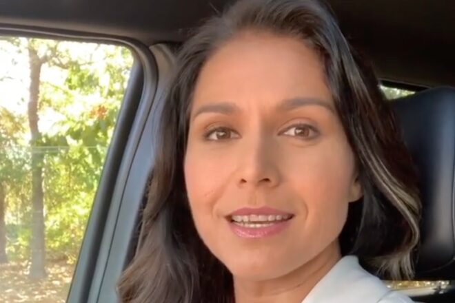 "Rep. Tulsi Gabbard Excluded From Democrats' ""Unity"" Video"