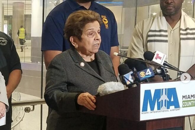 "Shalala questions Trump's loyalty to ""friends and allies"" in Venezuela"