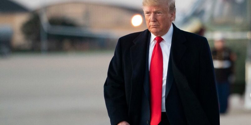 Trump sets his gunsights on Iran after U.S. embassy attack