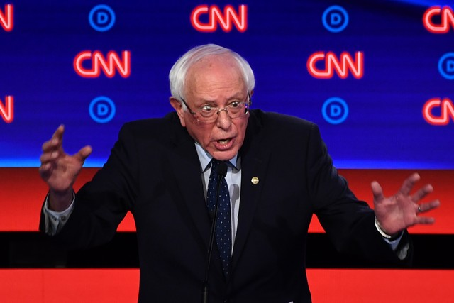 Sanders Splits From 2020 Candidates in Opposing USMCA