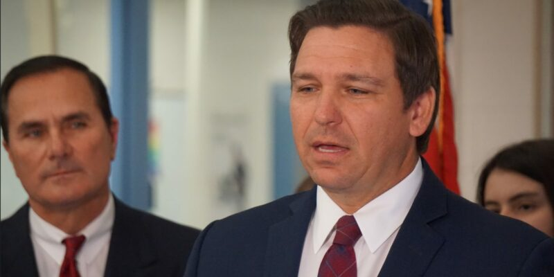 Florida Gov. DeSantis accused of an 'assault on freedom'