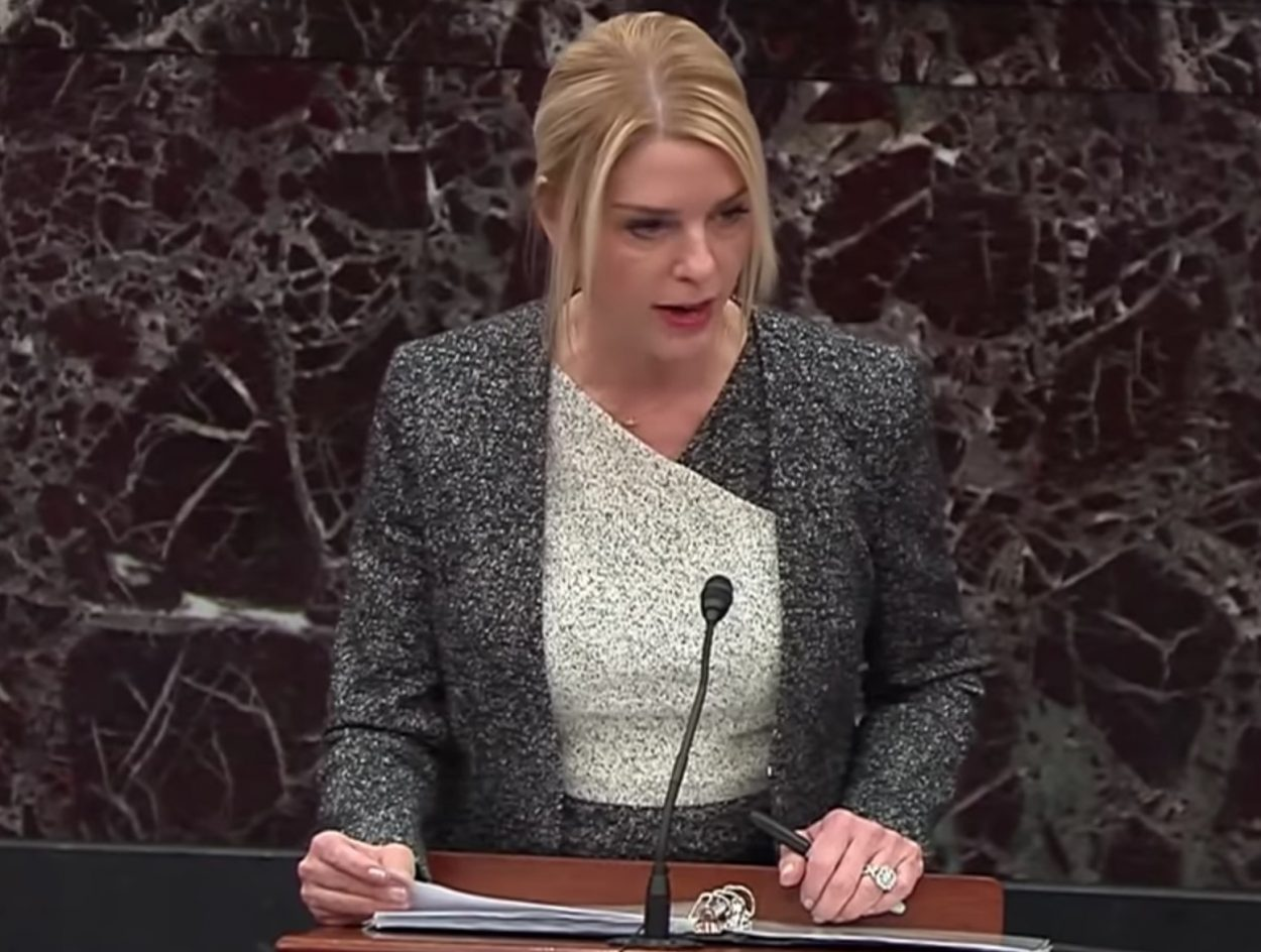 Pam Bondi's impeachment argument blacked out by 3 major networks