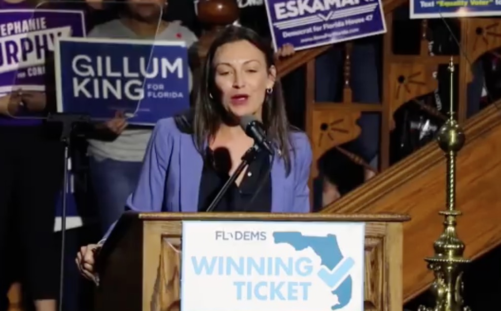 """Nikki Fried accuses DeSantis of trying to """"gut"""" her department"""