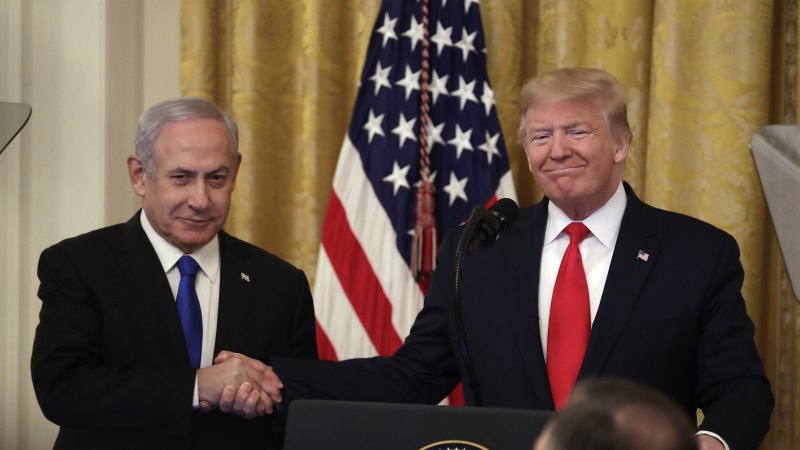 Trump Unveils 'Deal of the Century' for Middle East Peace