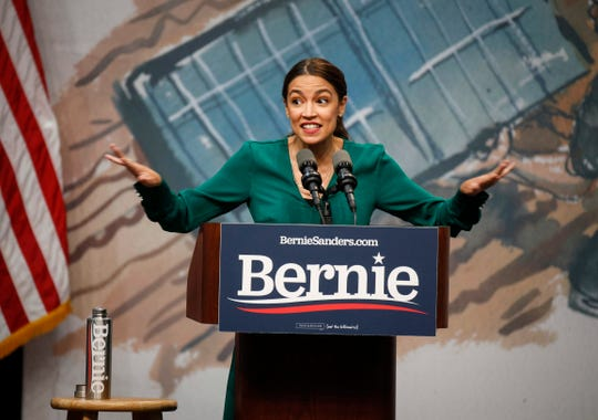 """Ocasio-Cortez Warns Democrats will be Making a """"Dangerous"""" Mistake if They Don't Rally Behind Eventual Nominee"""