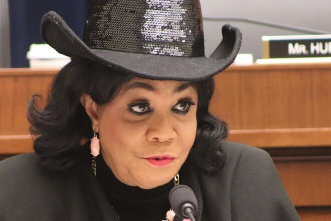 Frederica Wilson accuses Trump of pushing war with Iran
