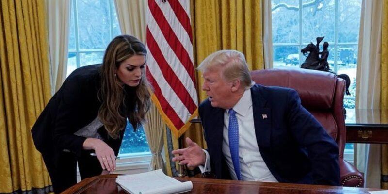 Trump loyalist Hope Hicks returns to White House
