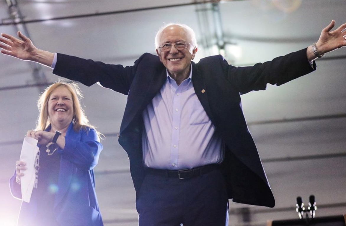 """""""Bypass Bernie"""" sprints to Florida's primary and past reporters"""