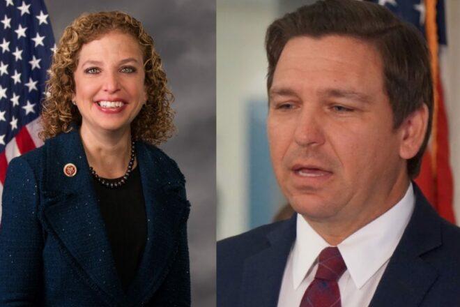 Wasserman Schultz says DeSantis is also shutting out House Republicans