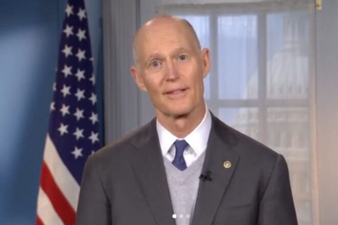 Rick Scott Torches Senate Democrats For  Blocking COVID-19 Funding