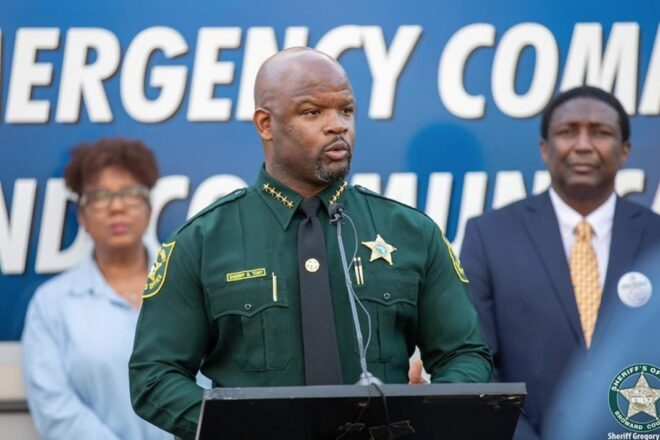 Broward Sheriff Greg Tony's 2020 election advantage