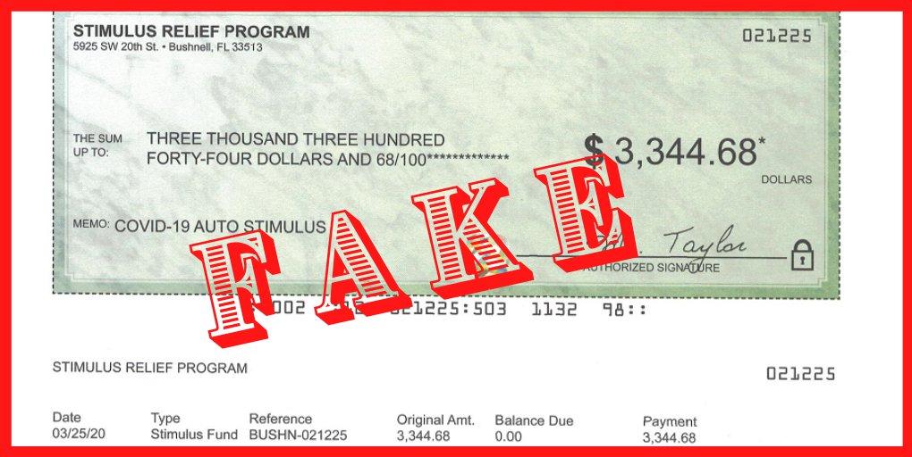 "Florida AG Ashley Moody sues ""fake"" stimulus check advertisers"