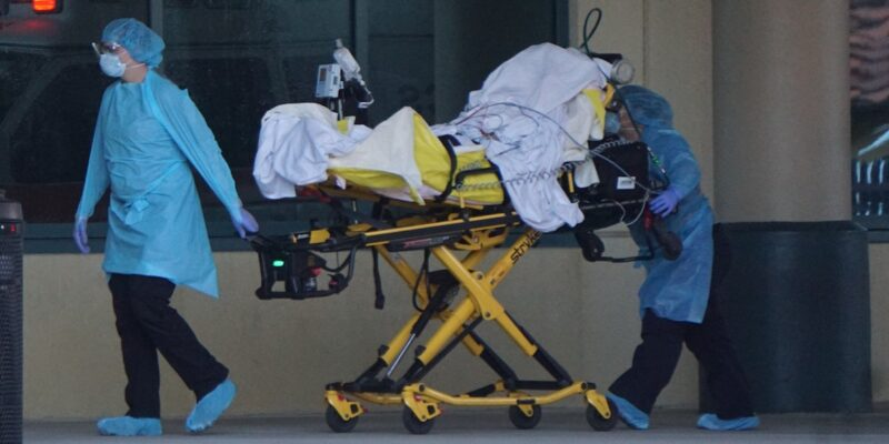 Coronavirus infected cruise ship patients arrive in Fort Lauderdale (Images)