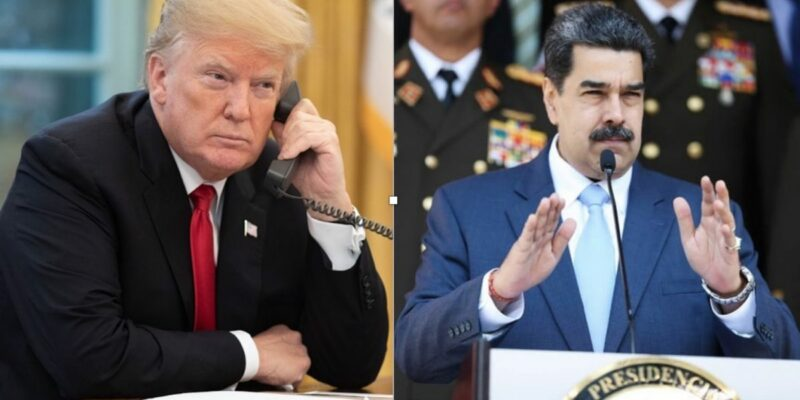 "Trump putting ""maximum pressure"" on Narco-terrorist Nicholas Maduro"