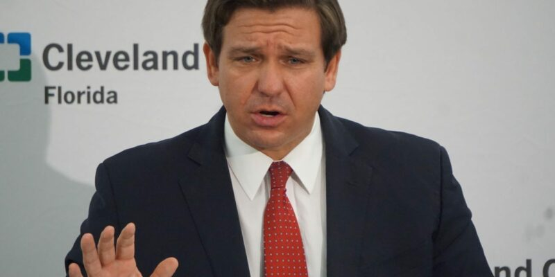 DeSantis orders Florida National Guard home after its made to rest in parking garage