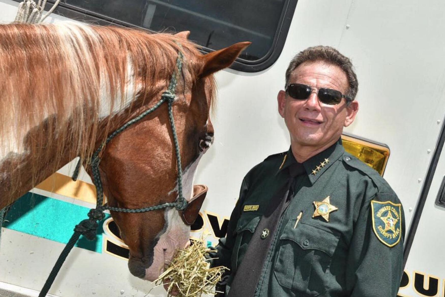 Fmr. Broward Sheriff Israel Lied on FDLE Application