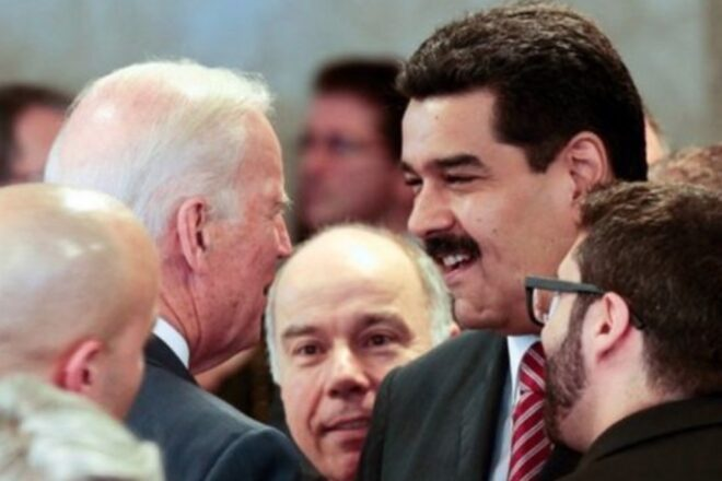 Biden hypocritically questions Trump over Maduro, forgets he met with the dictator