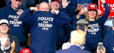PoliceForTrump