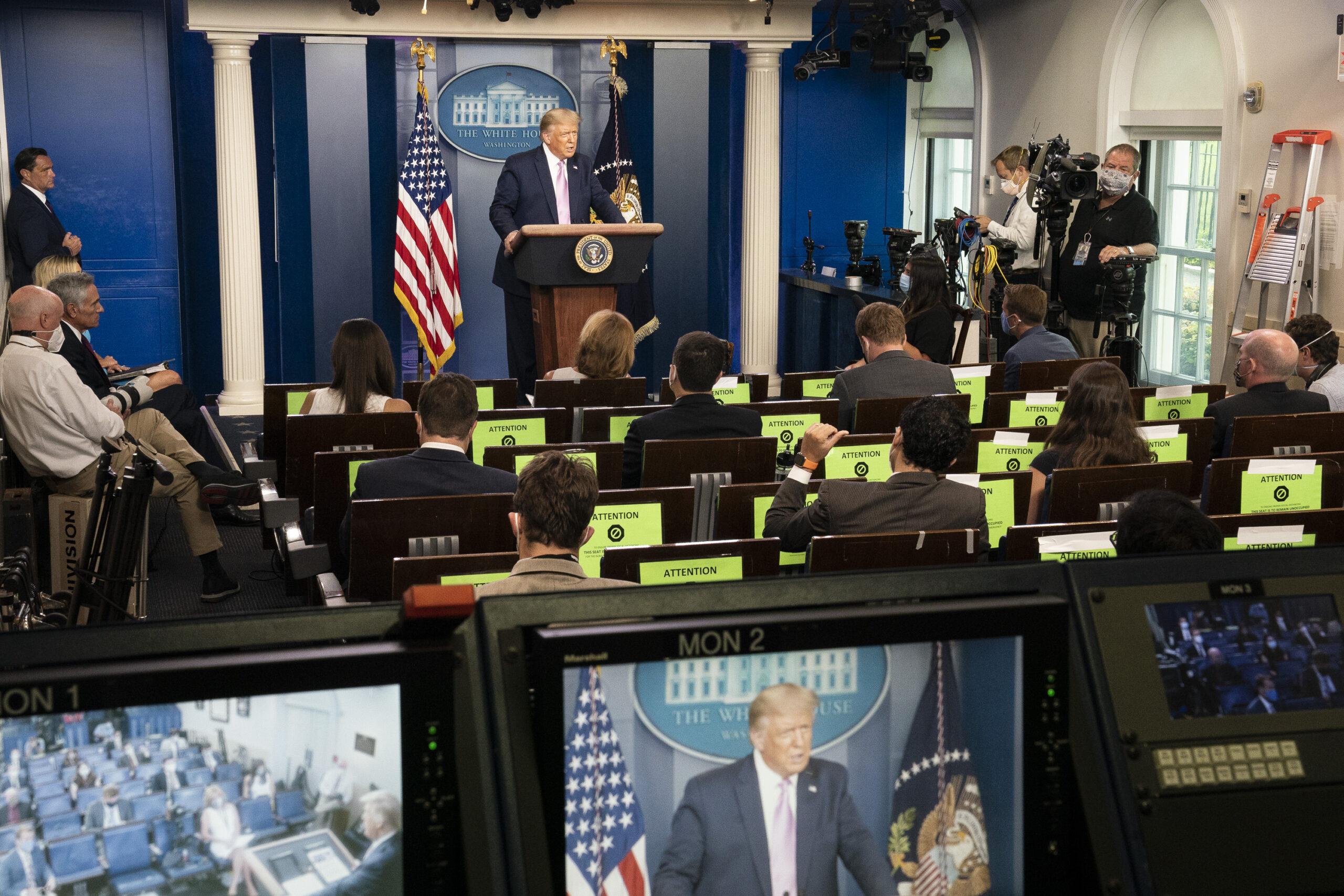 Trump Slams Biden For Taking Credit For UAE-Israel Peace Deal