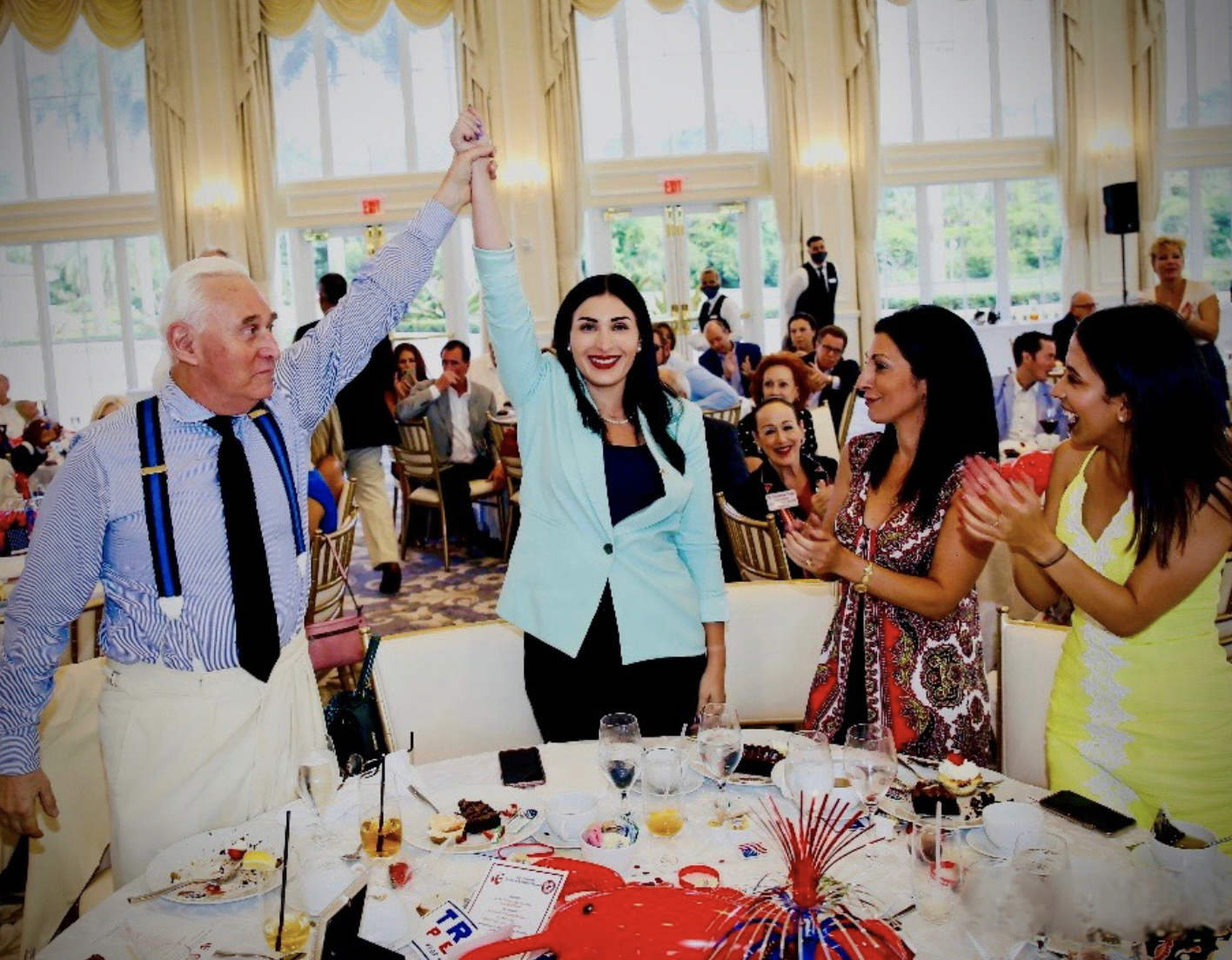 Roger Stone and Matt Gaetz ENDORSE Laura Loomer for Congress