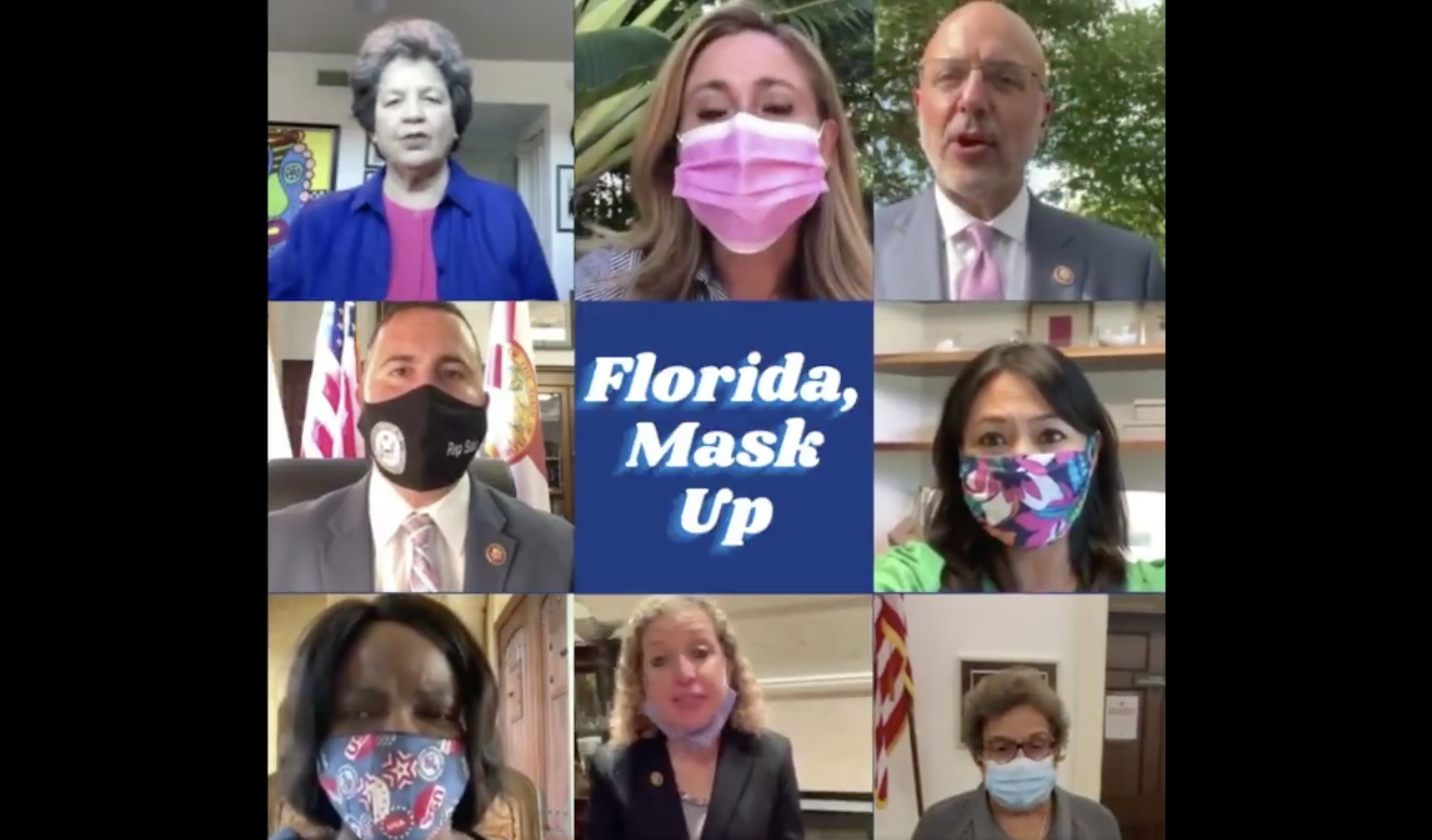 FL Congressional Democrats Plea for a Mask Mandate