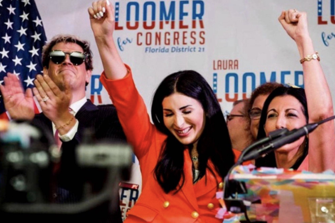 Laura Loomer Outraises Rep. Webster in 2022 Primary Race