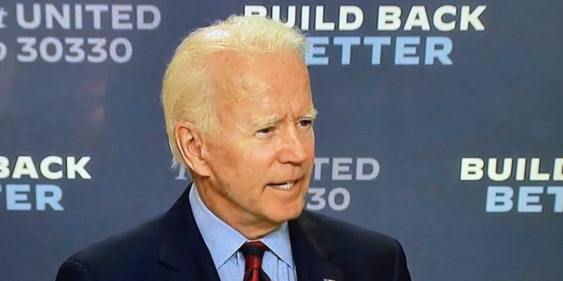 Former vice president Joe Biden gets a makeover before election