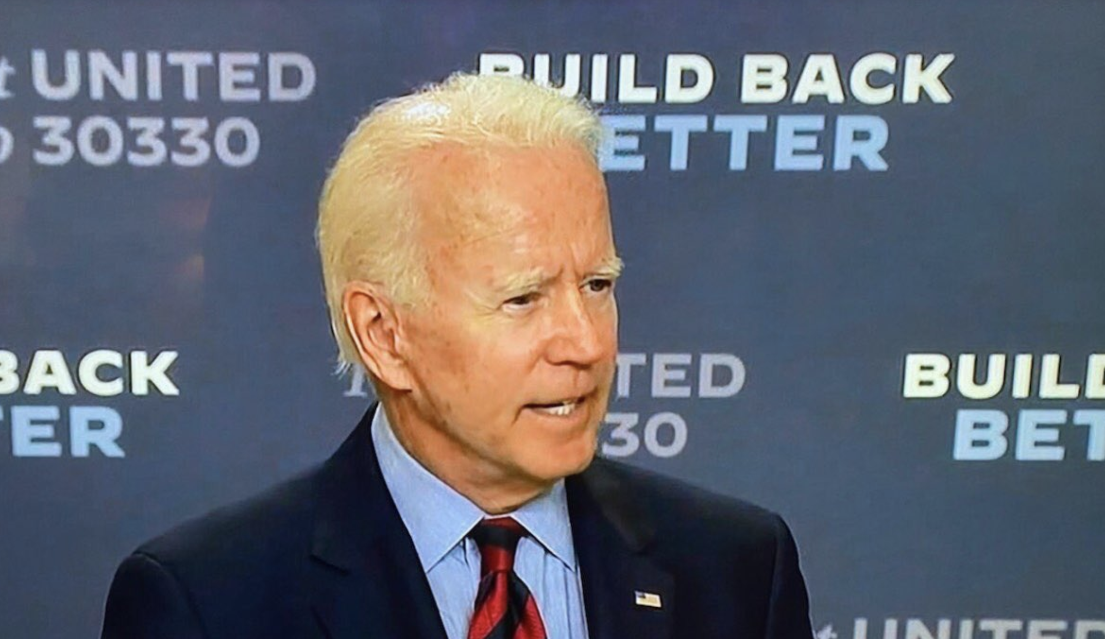 Former vice president Joe Biden gets a makeover before election