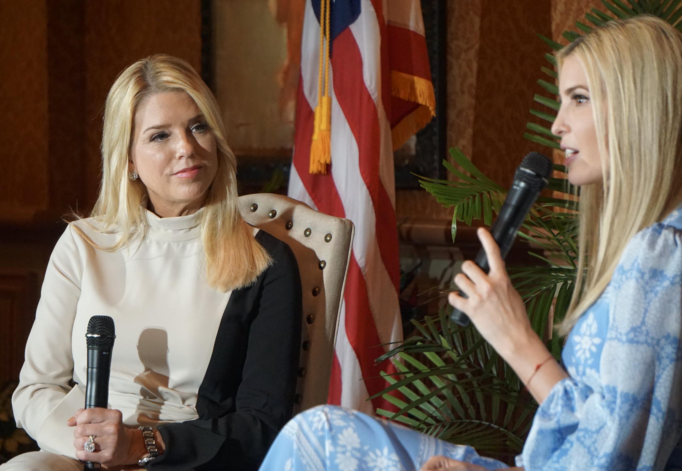 Ivanka Trump, Pam Bondi will not challenge Rubio in 2022