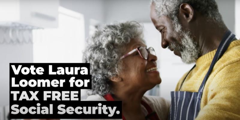 Loomer Wants Tax Free Social Security