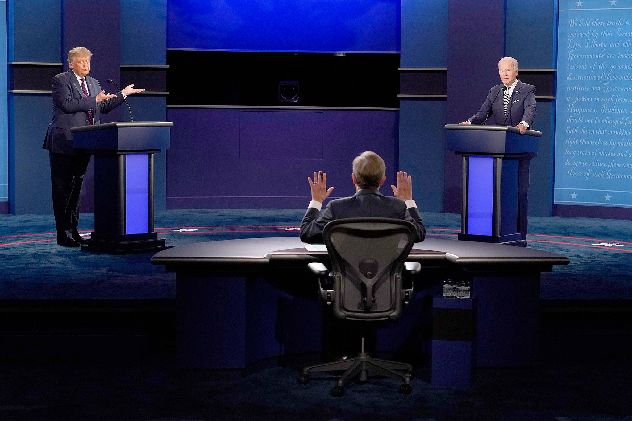 Biden Refuses During Presidential Debate To Answer Court-Packing Question
