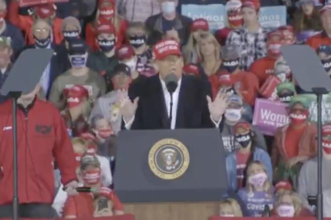 Donald Trump: 'Election was bull****'