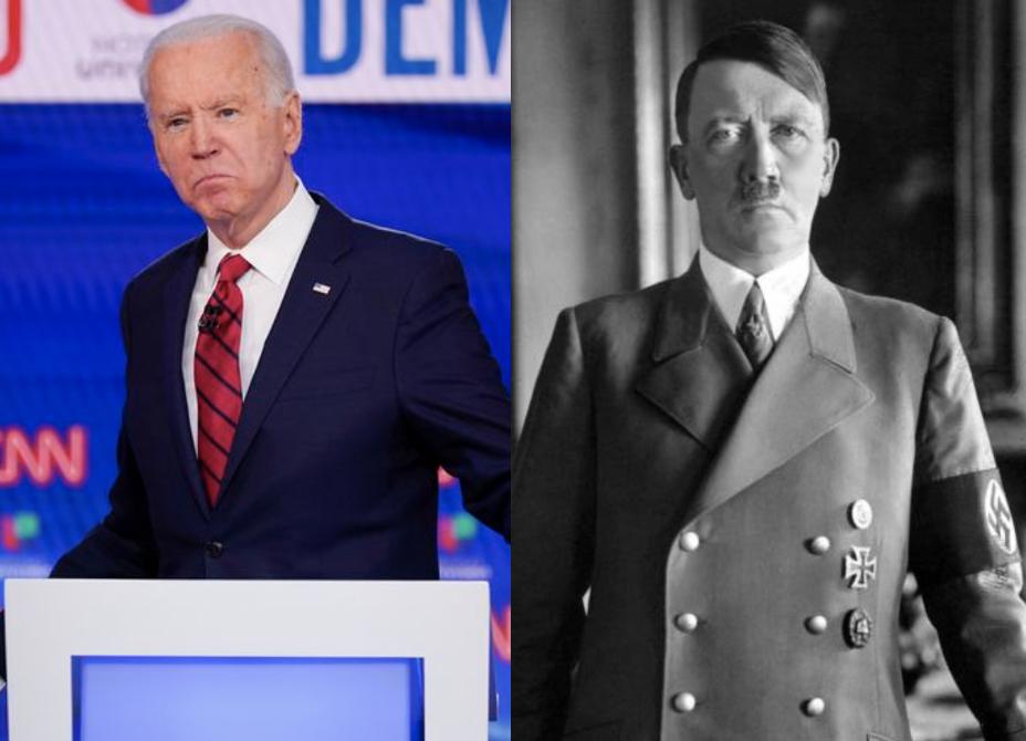 Biden references Hitler during debate with Trump