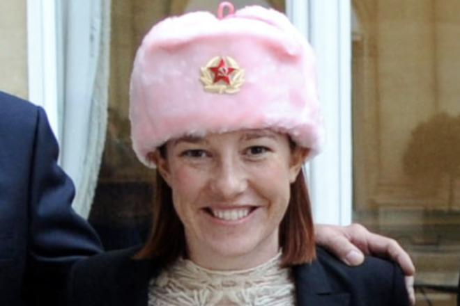 Communist hammer and sickle hat-wearing Psaki named Biden White House Spox