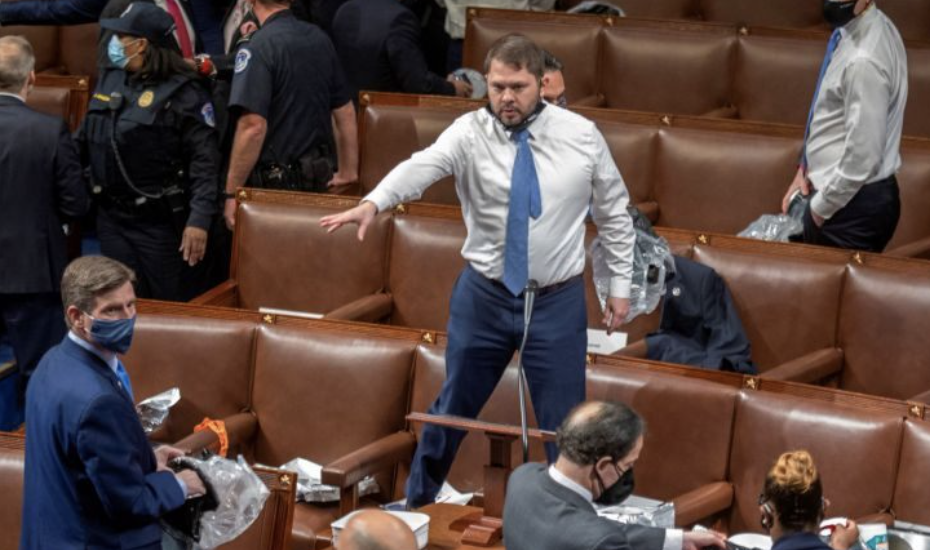Double Standard? House Democrats Seen Maskless During Capitol Riot