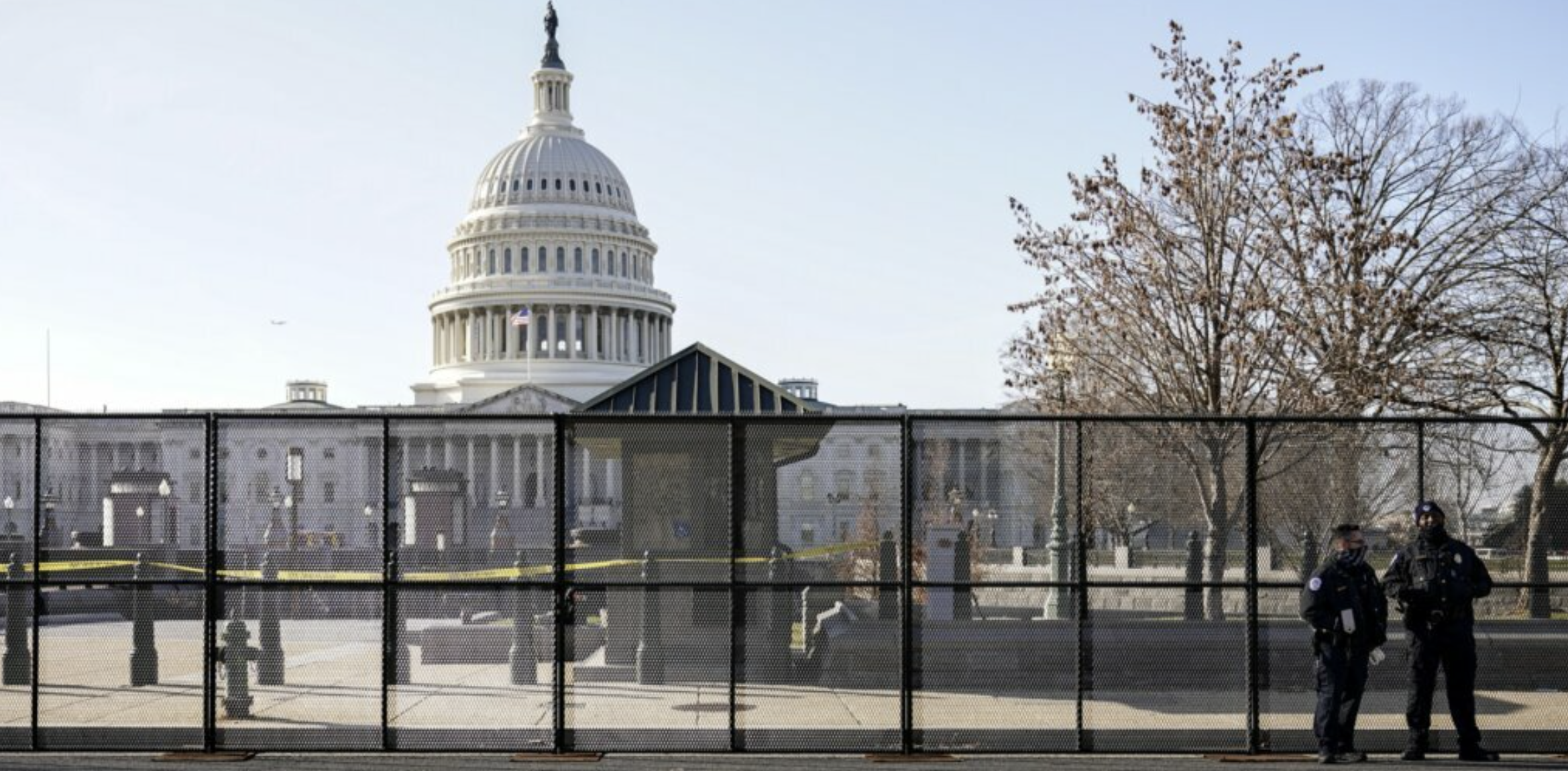 Democrats put up fence to protect themselves, but cancel fence to protect America