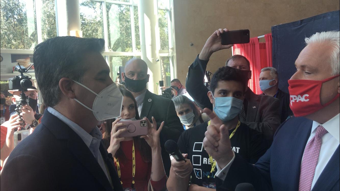 CPAC Chairman Matt Schlapp Tangles With CNN's Jim Acosta (VIDEO)