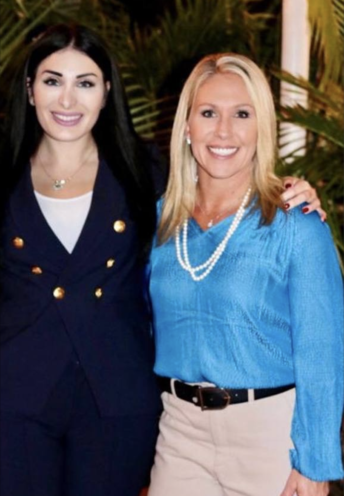 Laura Loomer and Marjorie Taylor Greene