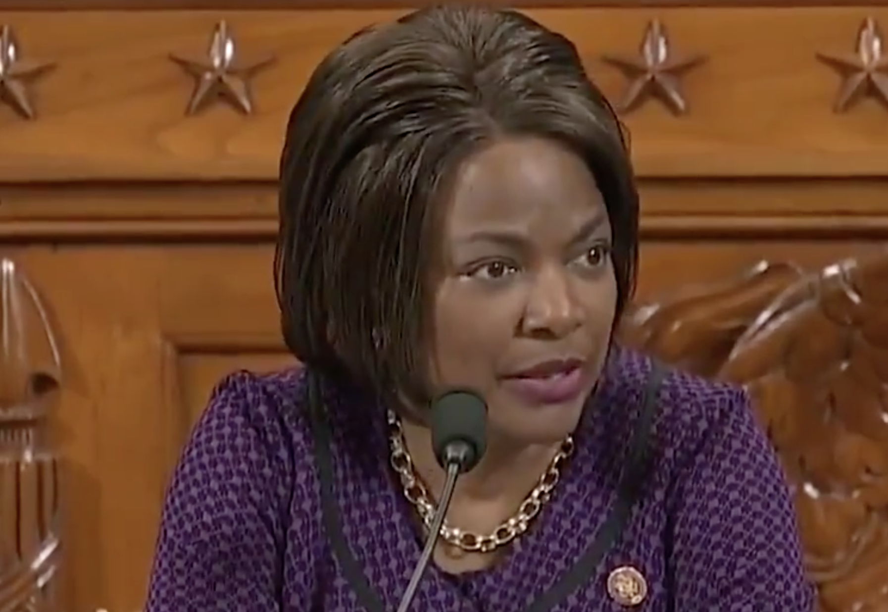 Val Demings says she loves the Pledge of Allegiance,' but votes against reciting it