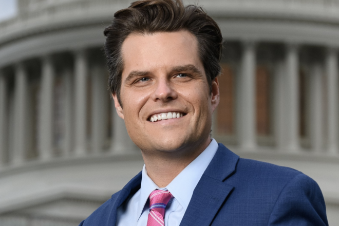 Gaetz Exposes Pelosi's COVID Stimulus Gift to Foreign Countries