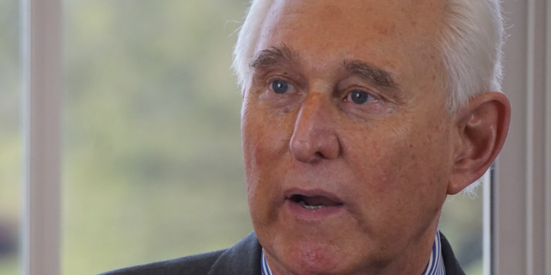 """EXCLUSIVE — Roger Stone Says Capitol Riot Allegation Against Him Is """"Categorically False"""" (VIDEO)"""