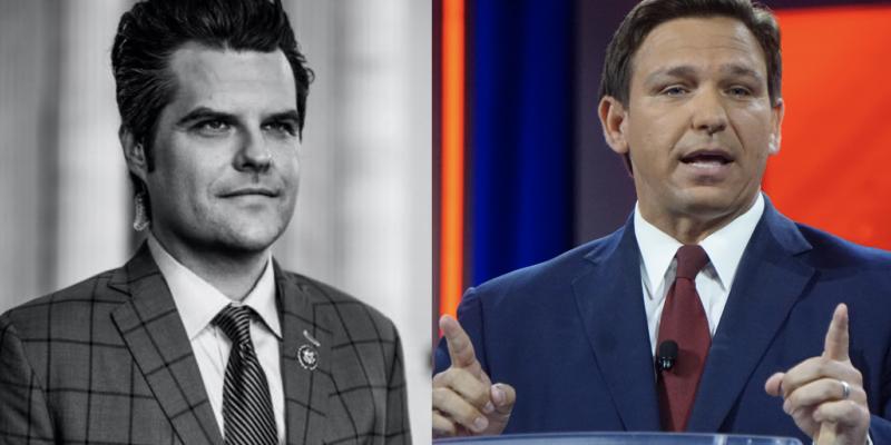Will Matt Gaetz Challenge Ron DeSantis For President in 2024?