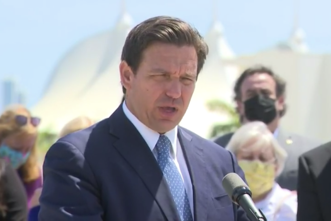 DeSantis Files Lawsuit Against Biden To Restart Cruise Line Industry
