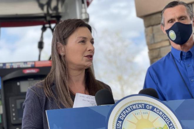 Nikki Fried Addresses Gas Skimming Schemes in Florida, Threatens Criminals