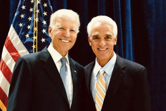 Charlie Crist Says Biden and Pelosi are a 'Godsend,' Calls Electoral College 'Archaic'(VIDEO)
