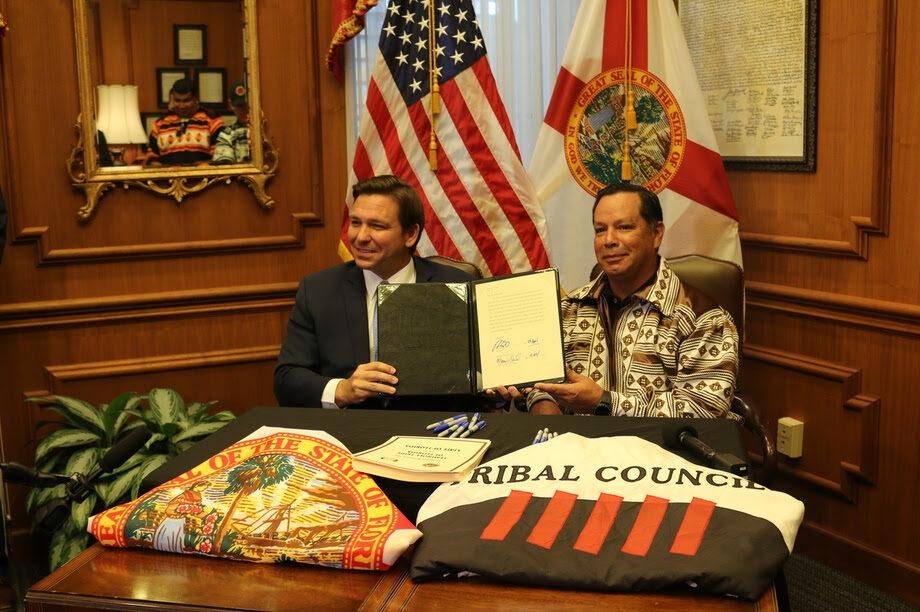 DeSantis Signs Historic Gambling Deal in Florida