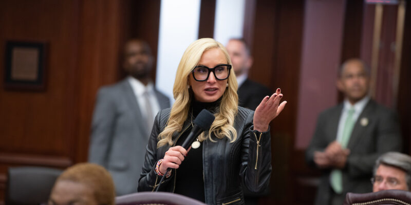 Lauren Book Leads Charge to Challenge HB 1